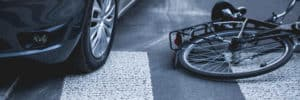 FRESNO, CA - Bicyclist Hospitalized after Hit by Vehicle on West McKinley Avenue